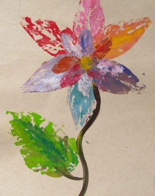 تلفيق چاپ و نقاشي . آيدا نوري . ۱۰ ساله . سال ۹۲