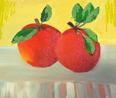 نقاشي خلاق . اثر غزل صیاد. ۸ ساله . سال ۹۴