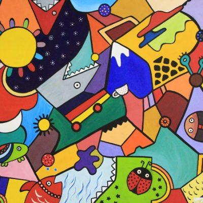 نقاشي گروهي . سال ۹۳