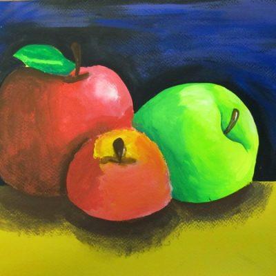 نقاشی خلاق . اثر یلدا سلیمانی فر . 12 ساله . سال ۹۴